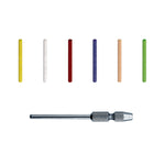 DEDECO SUNBURST 2MM RADIAL PIN ASSORTMENT 48/KIT & MANDREL