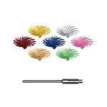 DEDECO SUNBURST SNAP-ON  RADIAL ASSORTMENT 42/KIT & MANDREL