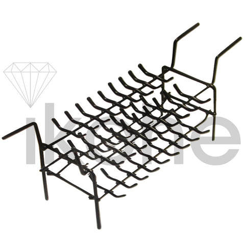 72-RING RACK DOUBLE WITH LEGS