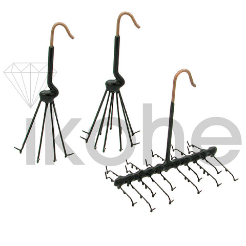 UMBRELLA RING RACK 8 HOOKS SS