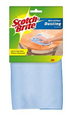 "3M SCOTCH-BRITE CLOTH BLUE 12-1/2X14-1/2""-USA"