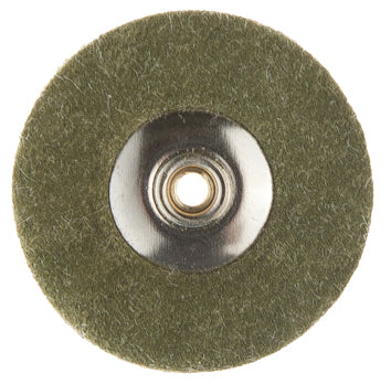 SILICON COATED COTTON FABRIC UNMOUNTED DISC 22mm-COARSE  BX/12