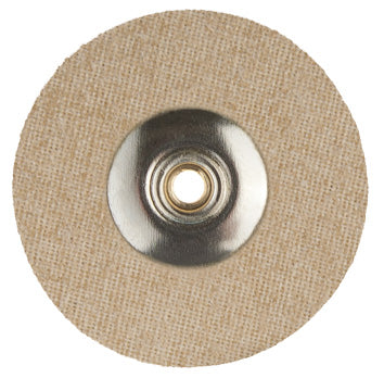 SILICON COATED COTTON FABRIC UNMOUNTED DISC 22mm-STIFF  BX/12