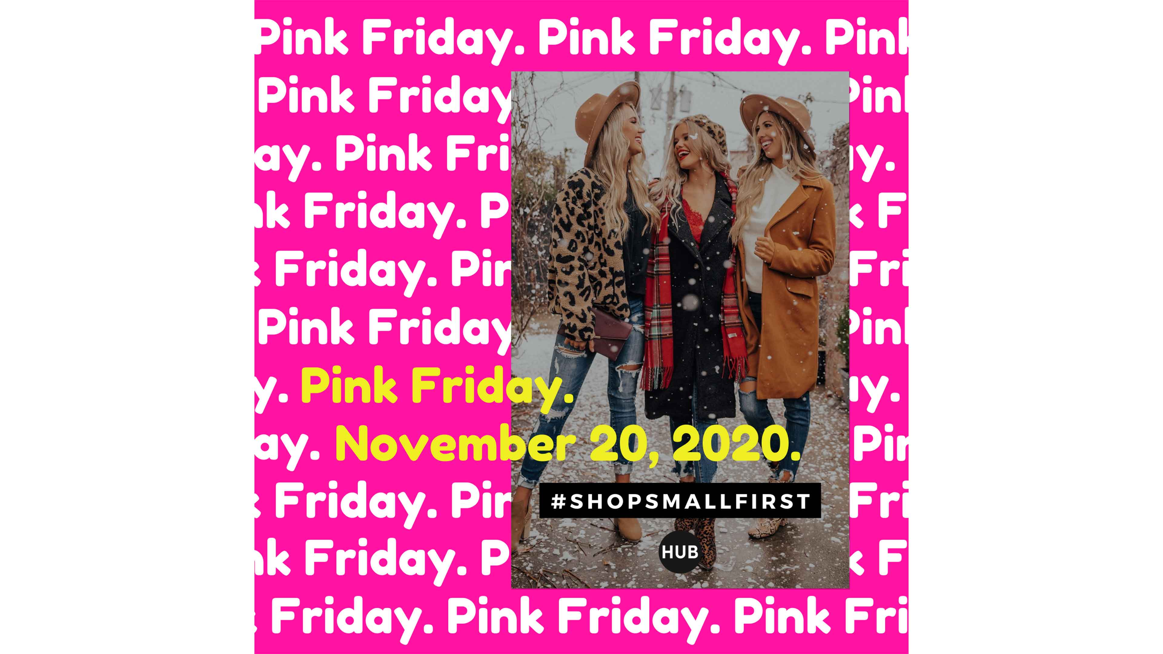 We Are Proud to Be Participating in Pink Friday