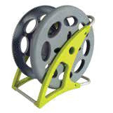 Vac Hose Reel - Holds Up To 45' Of Hose