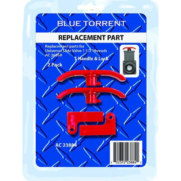 Slide Valve Replacement T-Handles (Blister Pack Of 2)
