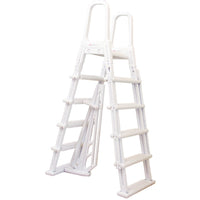 Ladder, A-Frame W/Barrier - Deluxe Plastic Swing-Up