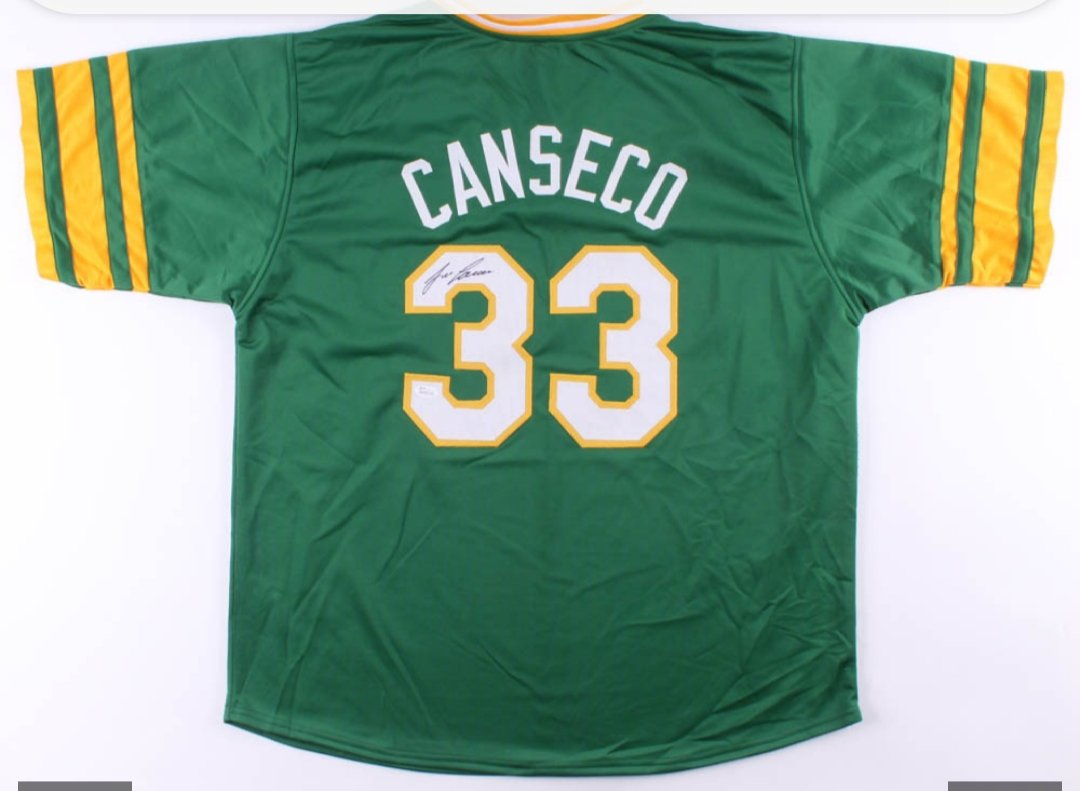 Jose Canseco Signed Oakland Athletics Jersey (JSA COA