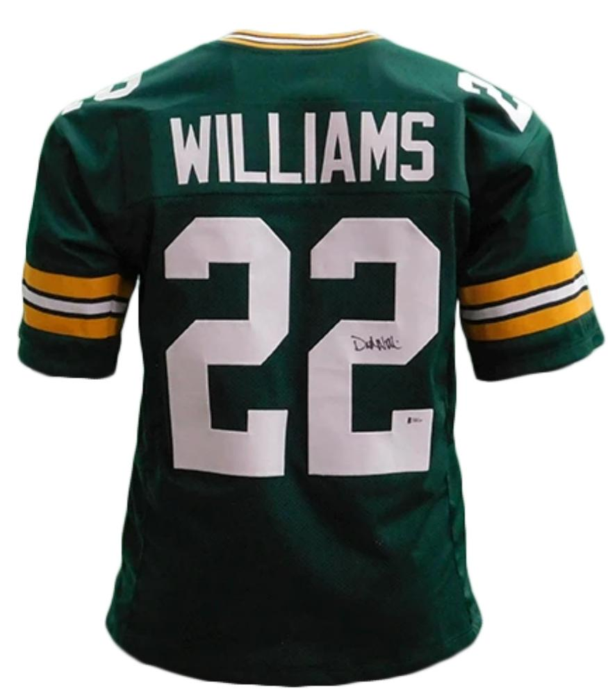 Dexter Williams signed Green Bay Packers style Jersey (Beckett COA)