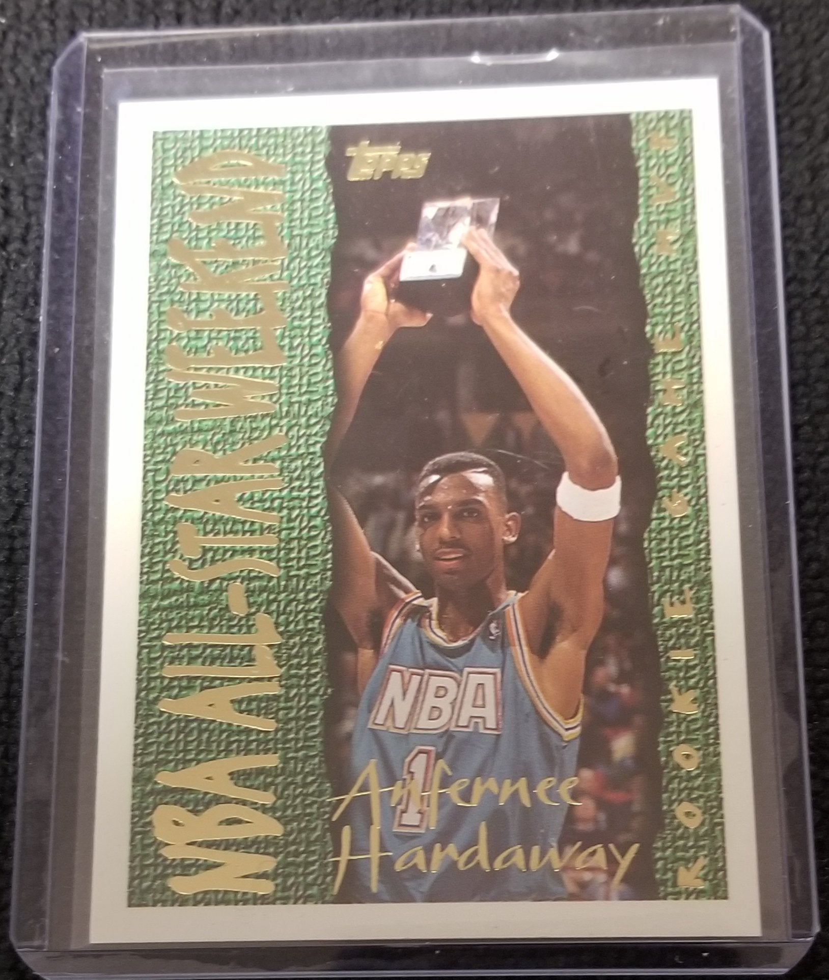 "Anfernee Hardaway Orlando Magic 1994-95 Topps ""Rookie Card MVP"" Basketball Card #14"