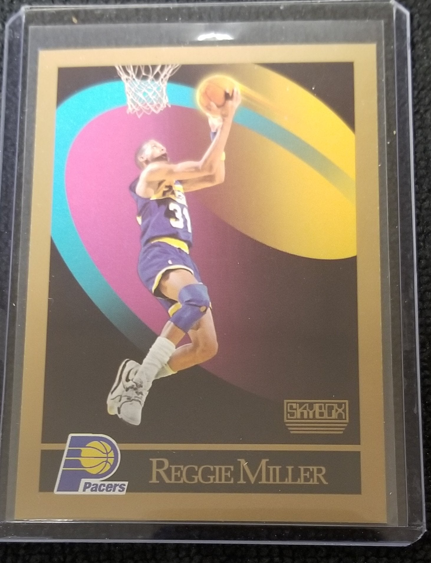 Rare Reggie Miller (HOF) Indiana Pacers 1990-91 Skybox Basketball Card #117