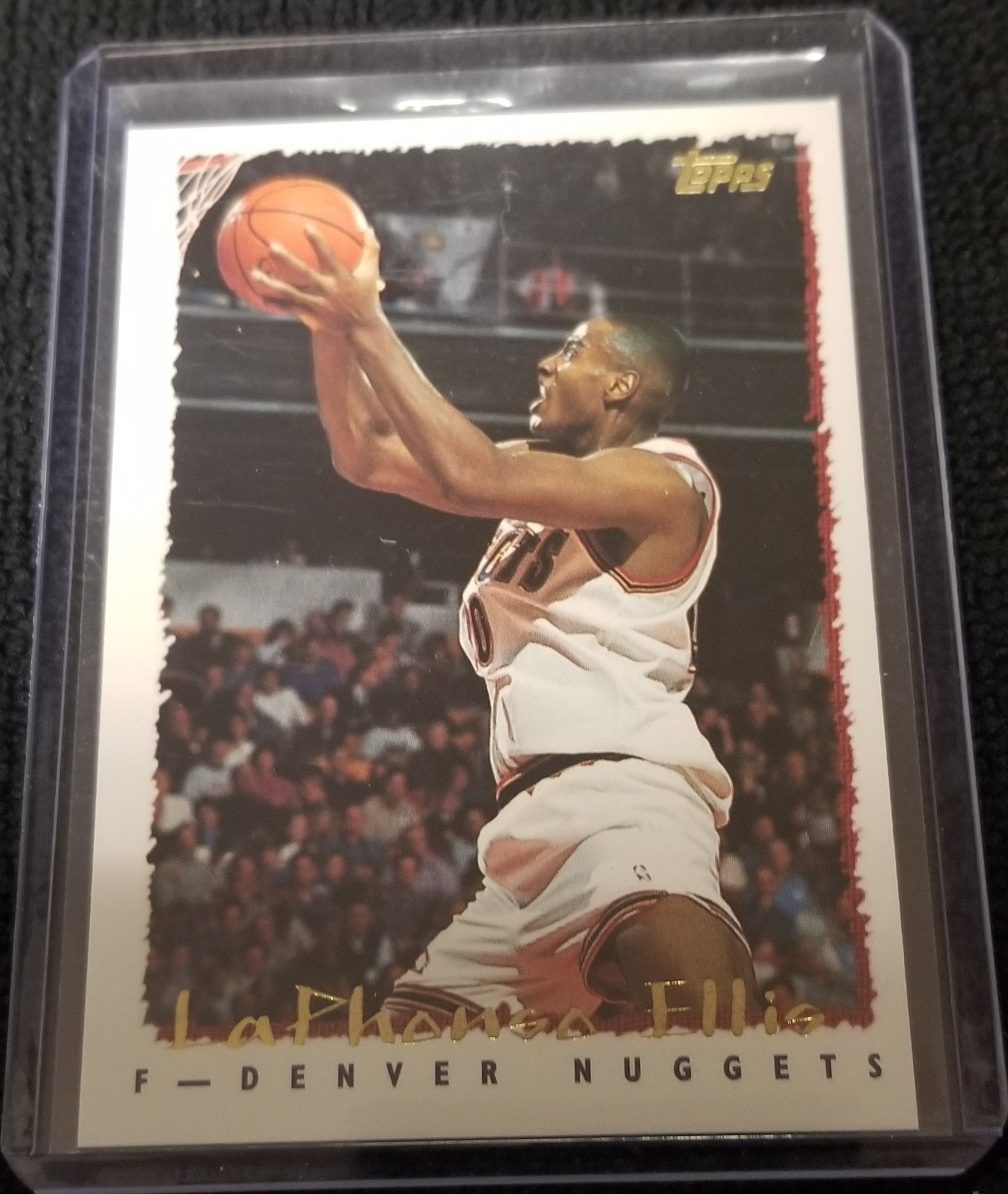Laphonso Ellis Denver Nuggets 1994-95 Topps Basketball Card #145