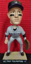 Troy Tulowitzki #2 Colorado Rockies 20th Anniversary 2013 Frontier Airlines Collector's Edition (SGA) Bobblehead
