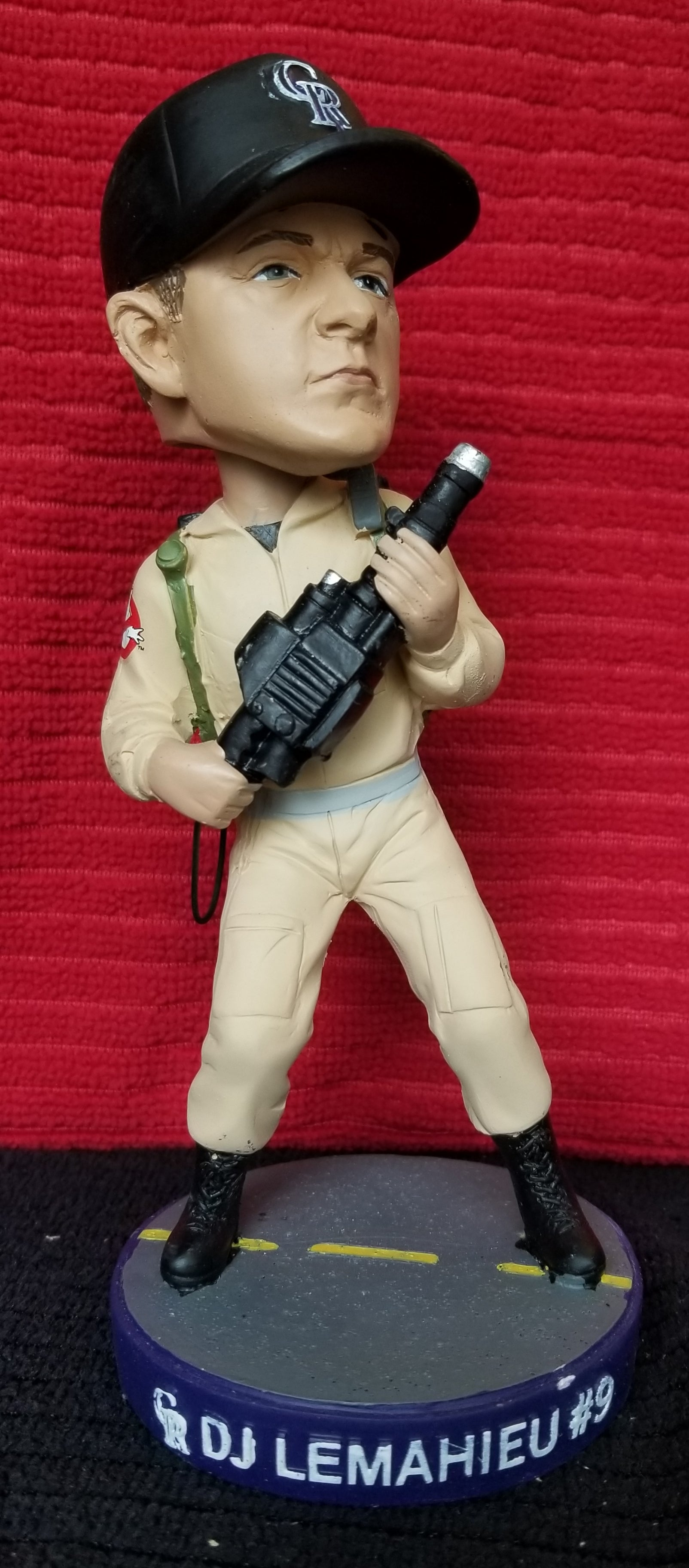 "DJ LeMahieu #9 2016 Colorado Rockies ""Ghostbusters"" stadium giveaway (SGA) bobblehead 10,000"
