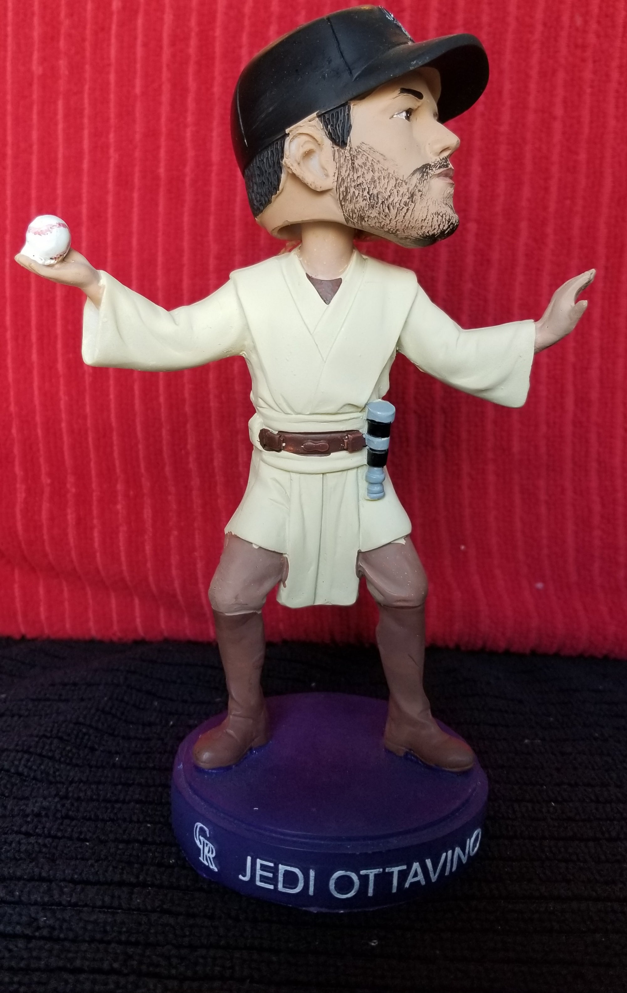Adam Ottavino 2017 Colorado Rockies Star Wars Jedi (SGA) bobblehead
