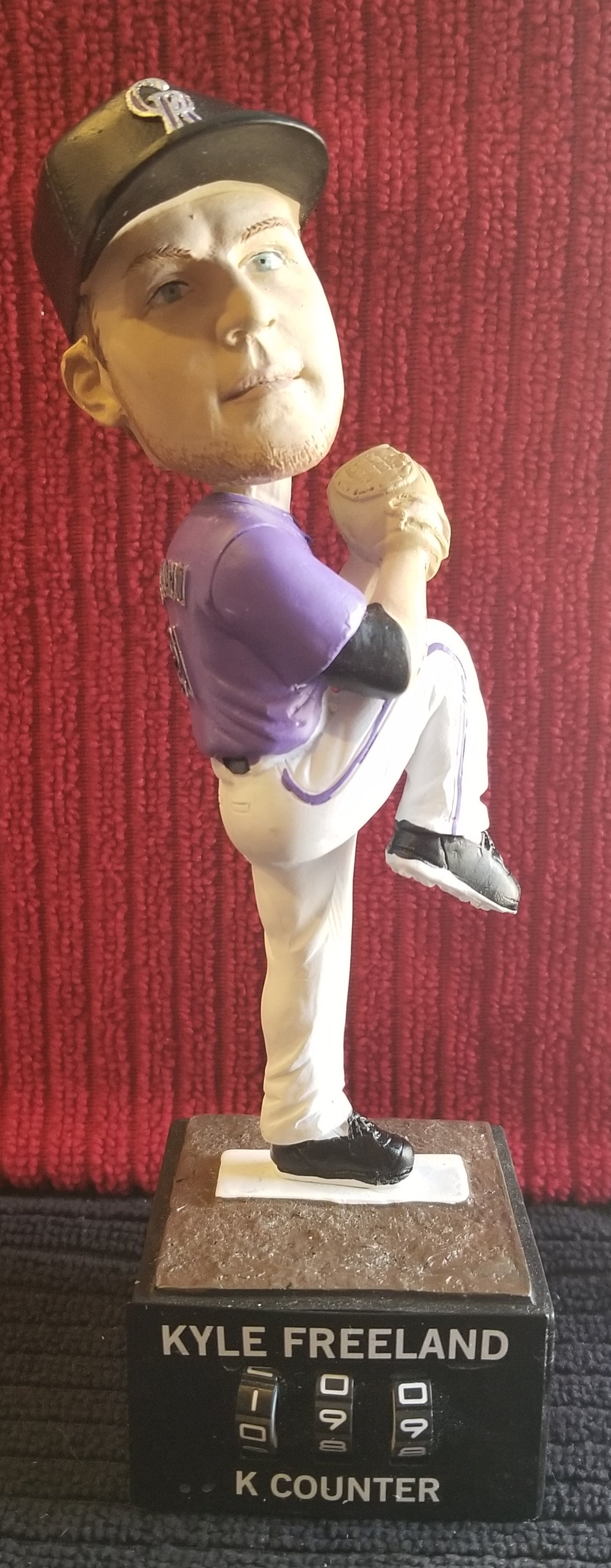 Kyle Freeland #21 2019 Colorado Rockies Newmont Goldcorp sponsored (SGA) Bobblehead