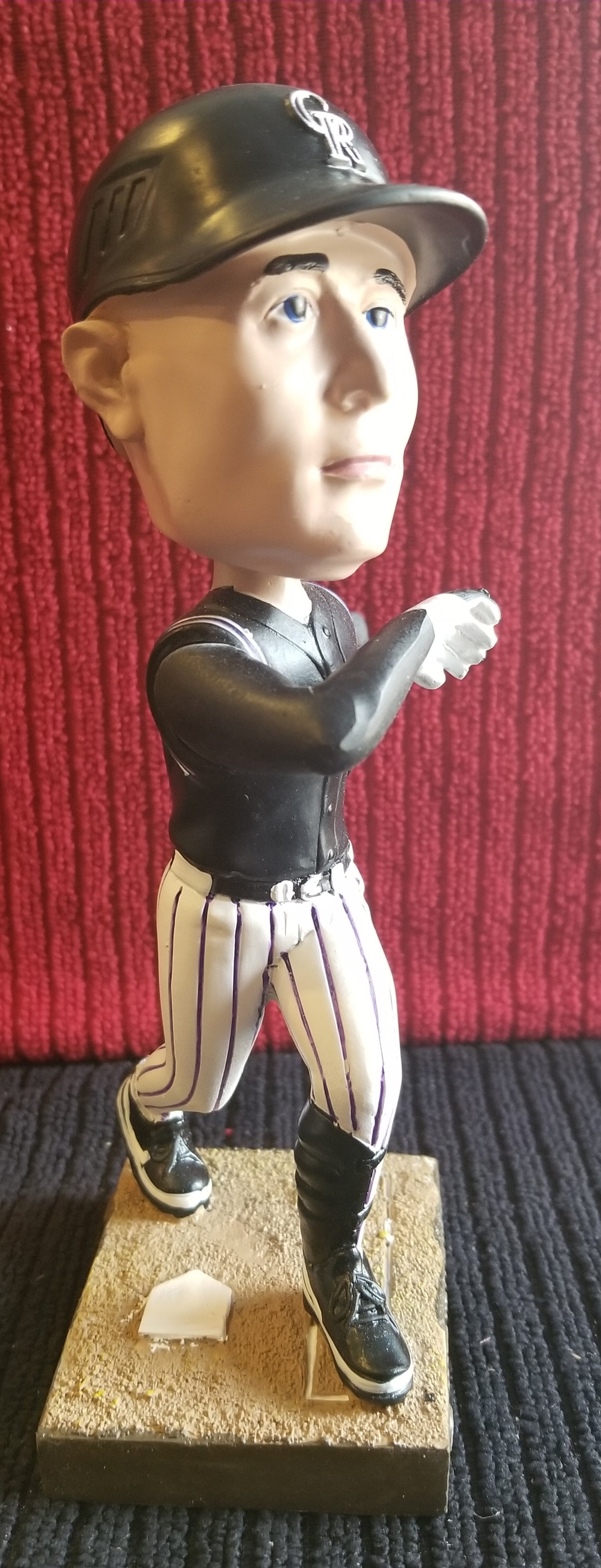 Matt Holliday #5 2008 Colorado Rockies Esurance sponsored (SGA) Bobblehead $