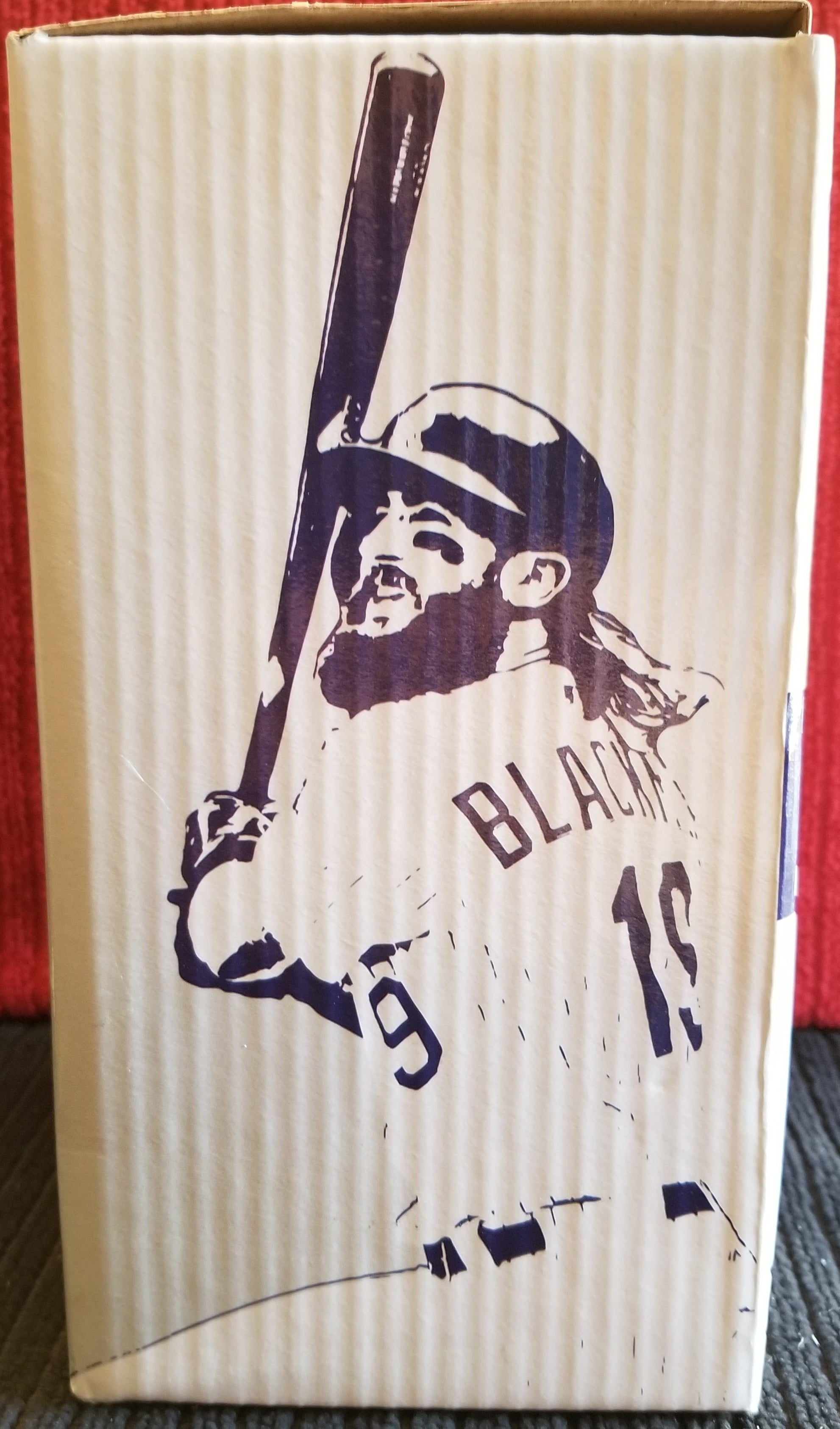 Charlie Blackmon #19 Colorado Rockies 25th Anniversary 2018 Shane Company Collector's edition (SGA) Bobblehead