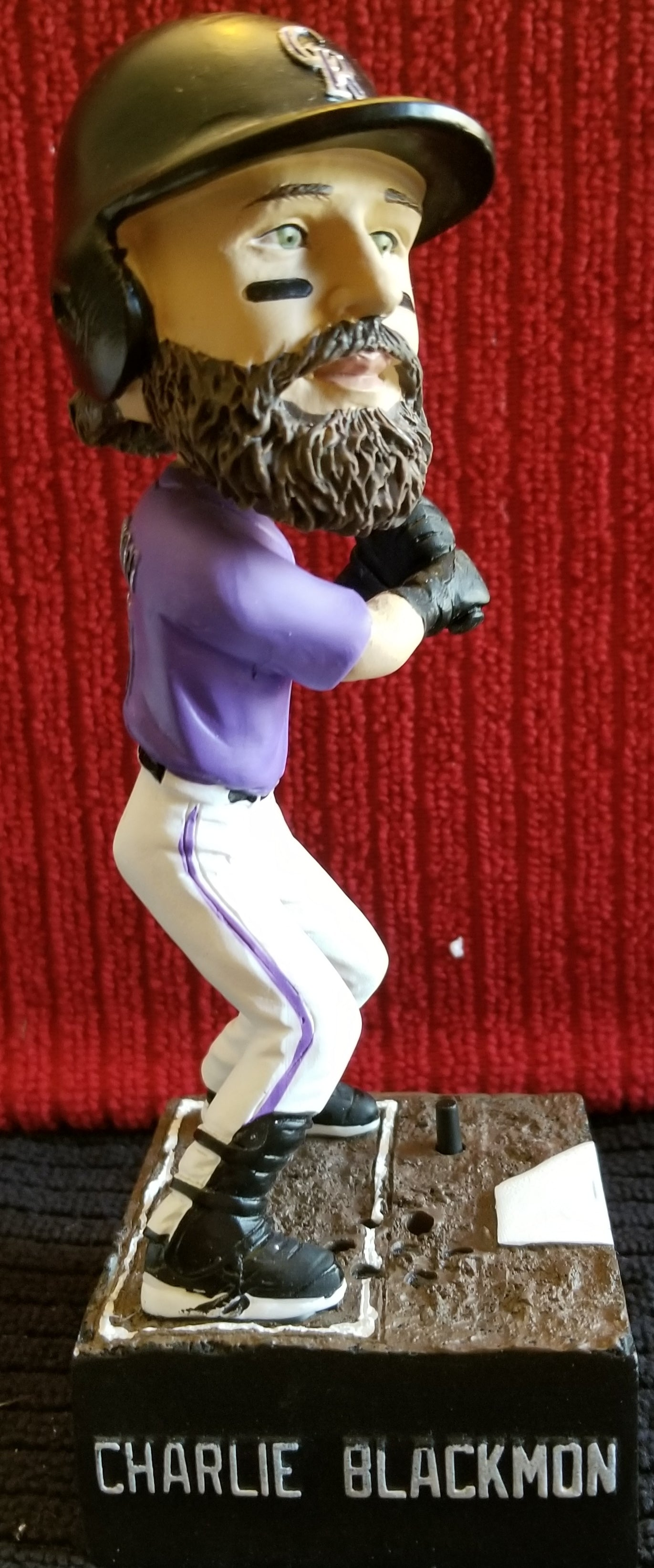 "Charlie Blackmon #19 2019 Colorado Rockies ""Sing-A-Long"" King Soopers sponsored (SGA) Bobblehead"