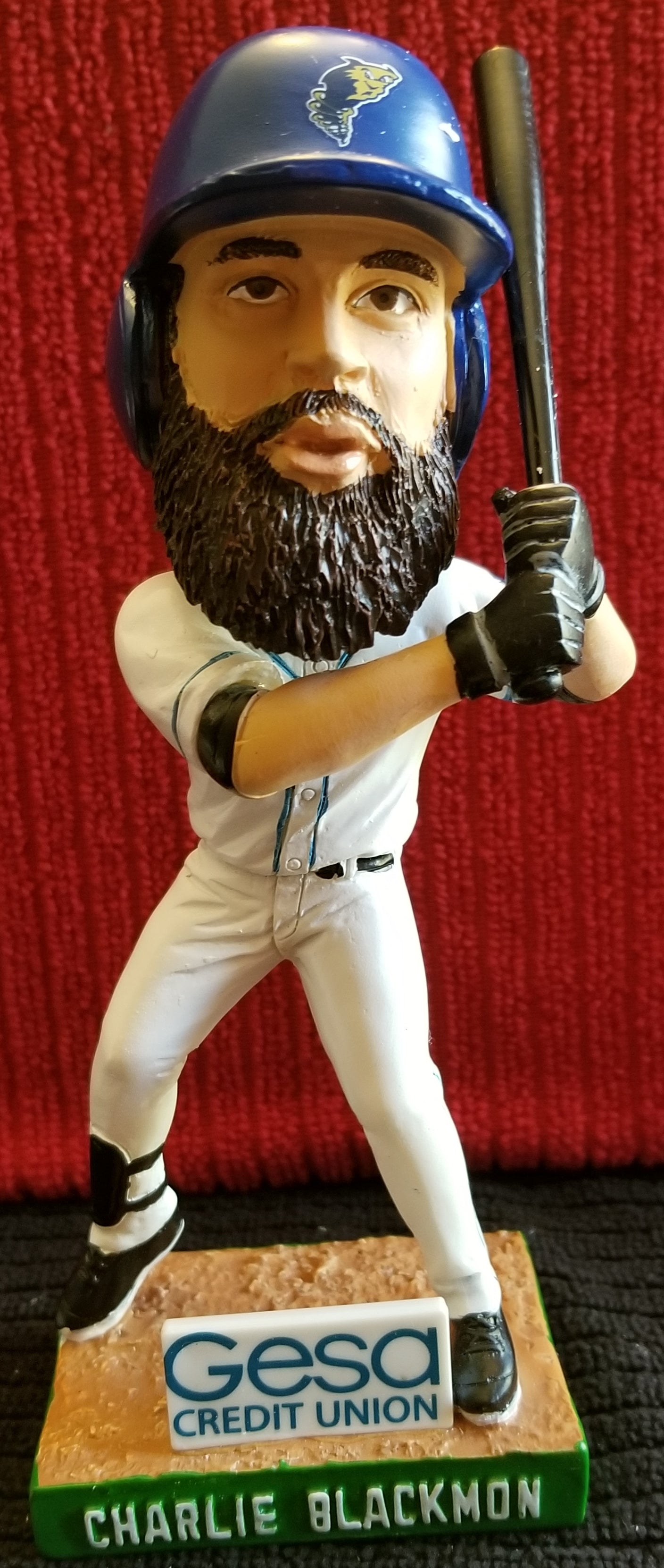 Charlie Blackmon #16 2018 Tri-City Dust Devils sponsored (SGA) Bobblehead