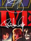 KISS Alive 2 LP Originally Autographed by Gene Simmons Paul Stanley Ace Frehley Peter Criss
