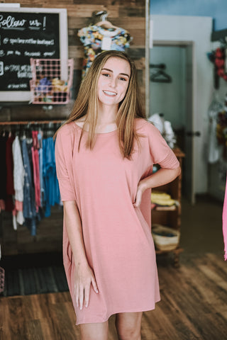 Basic Oversized Tunic/Dress