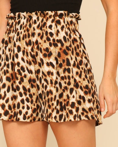 High-waisted Cheetah Shortie