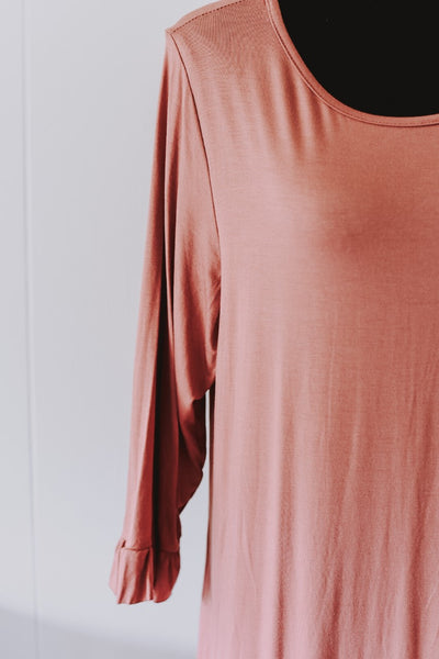 Mauve Must Have Top