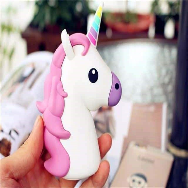 batterie externe licorne iphone 1 Féerique