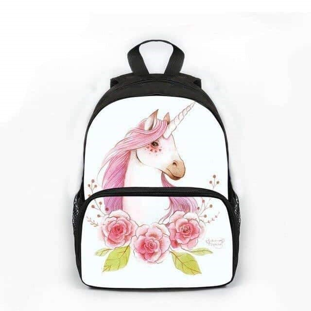 cartable licorne blanc 2020