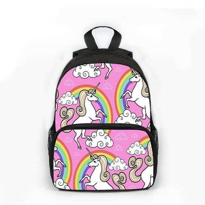 cartable licorne cp Arc-en-ciel