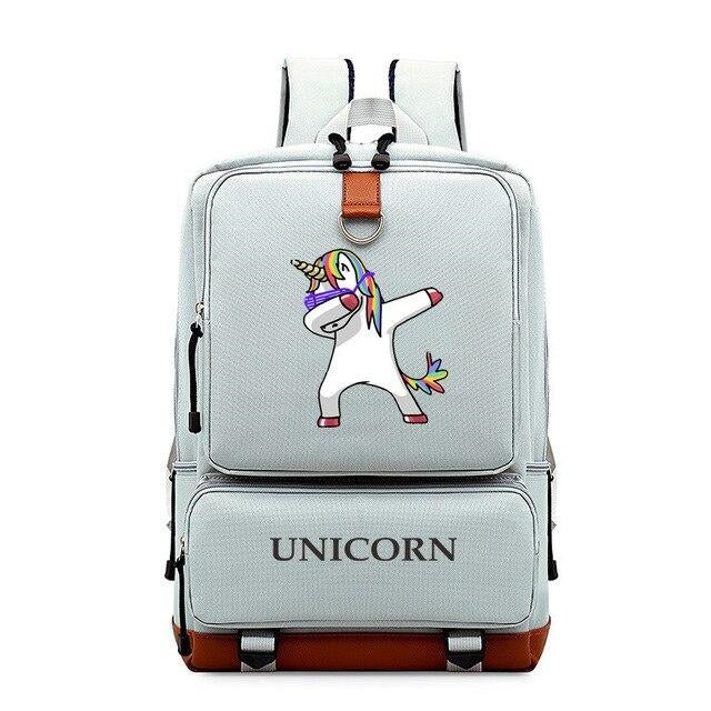 cartable licorne gris dab adulte