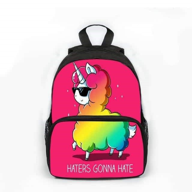 cartable licorne lama Belle