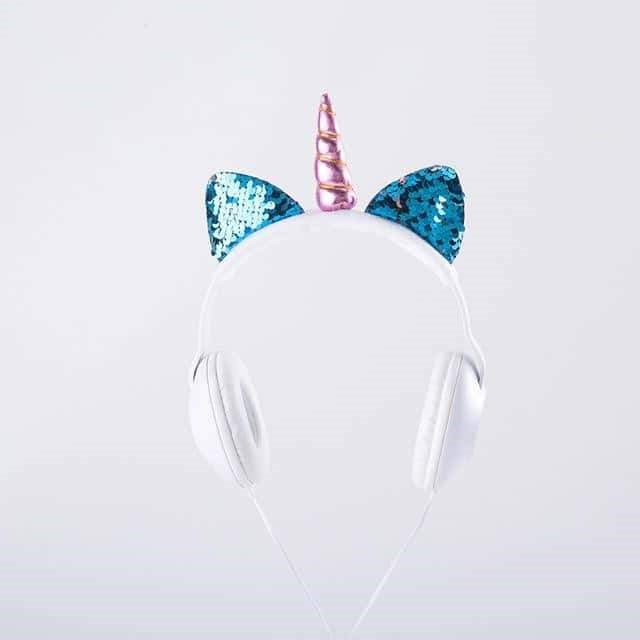 casque audio en licorne adulte