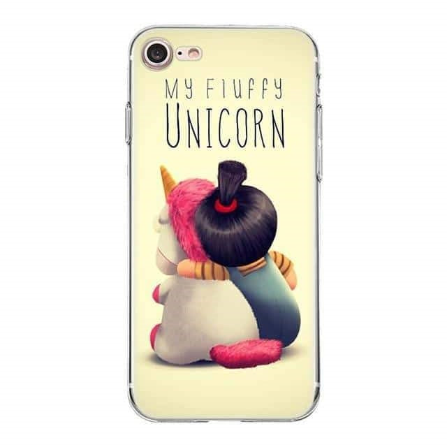 coque licorne iphone dessin anime tendance