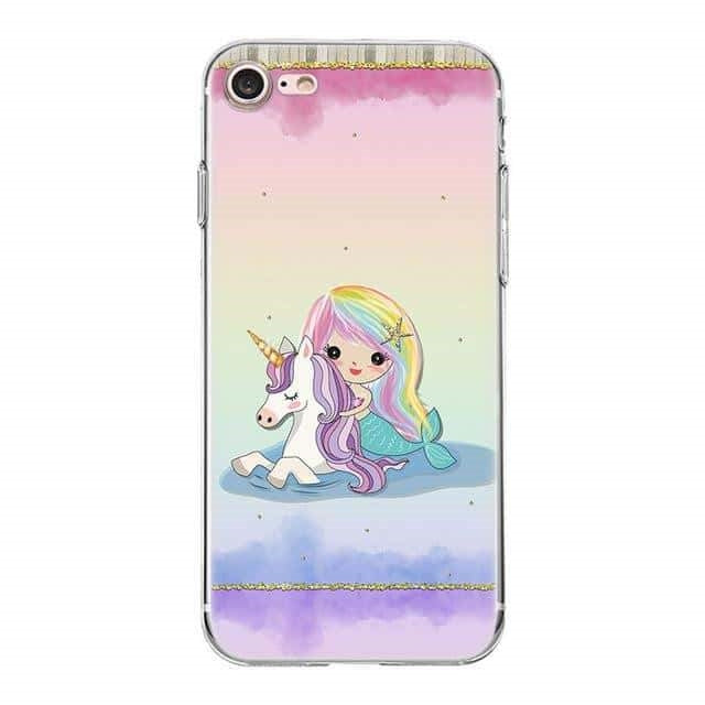 coque licorne iphone licorne et sirene adulte