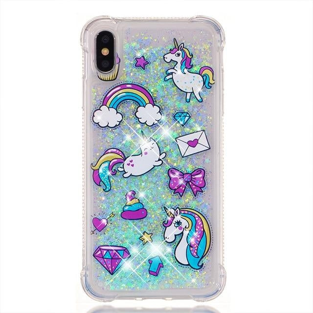 coque licorne iphone stickers kawaii Cute