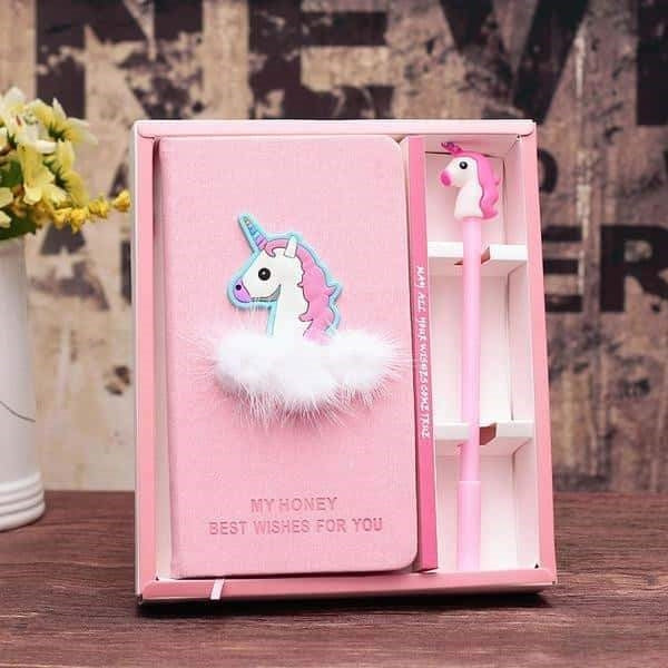 journal intime fille licorne Cute
