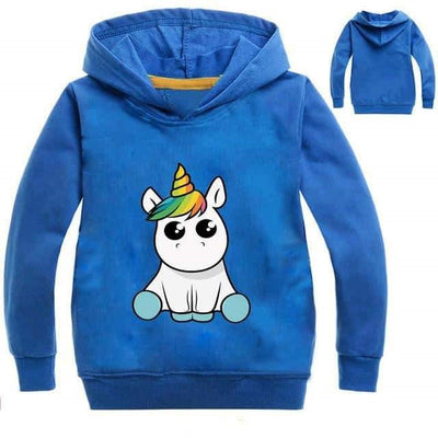 kawaii sweat licorne Paillettes