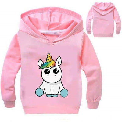 kawaii sweat licorne adulte