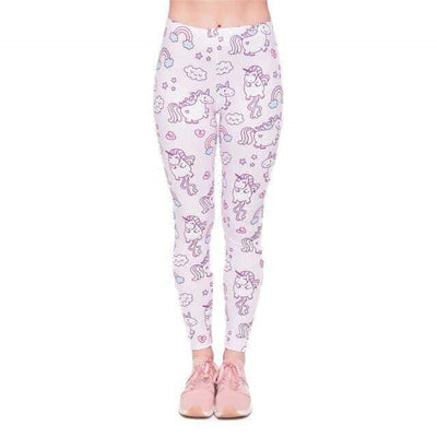 legging licorne kawaii adulte