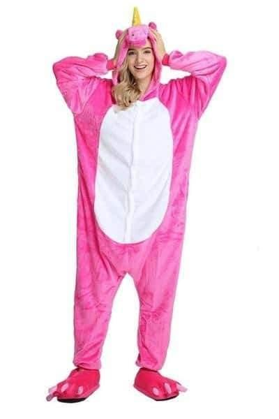 pyjama licorne rose Cute
