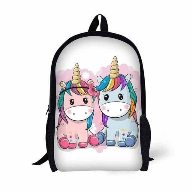 sac a dos licorne en couple kawaii adulte