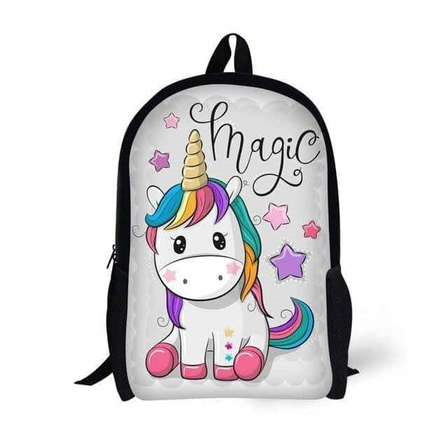 sac a dos licorne magic kawaii Arc-en-ciel