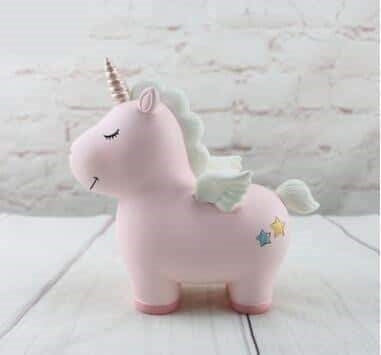 tirelire licorne rose adulte
