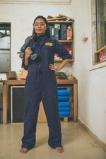 Load image into Gallery viewer, Boiler suit / Workshop coverall - Unisex - Maker's Asylum Shop