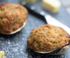 Wild Caught Stuffed Clam