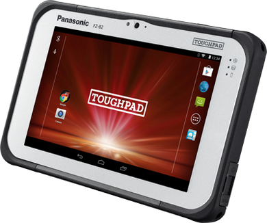 Panasonic Toughpad FZ-B2 FULLY RUGGED 7 INTEL®-BASED ANDROID Tablet field MIL-810 and IP65