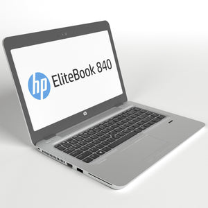 "HP Ultrabook 840 G3 i5-6300u 12GB RAM 14.5"" Backlit 2 drives (256GB SSD + 500GB) 1080P Window10Pro MSOfficePro"