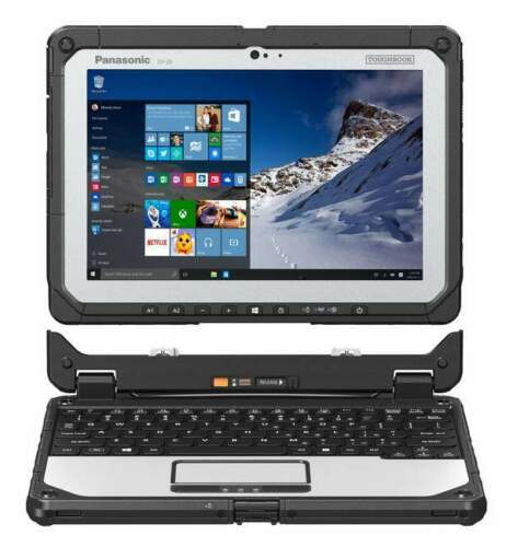 Panasonic Toughbook CF-20 FullyRugged Keyboard with Extra Battery, intel Core™ m5-6Y57 vPro™, 8GB, 256GB, LTE,Windows 10